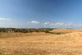 Tuscan landscape near Siena Royalty Free Stock Photo