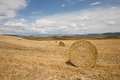 Tuscan landscape in Val d'Orcia (Siena, Italy) Royalty Free Stock Photo