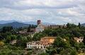 Tuscan renaissance San Miniato al Monte landscape Florence, Italy Royalty Free Stock Photo