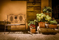 Tuscan scene Royalty Free Stock Photo