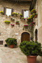 Tuscan Square Stock Photography