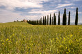 Tuscan villa Royalty Free Stock Photography