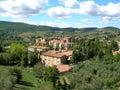 Tuscan Village. Stock Images