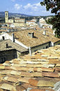 Tuscany beautiful old town near massa marittima Stock Image