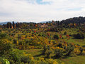 Tuscany Countryside Royalty Free Stock Photos