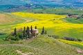 Tuscany countryside near Pienza, Italy Royalty Free Stock Photo