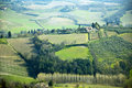Tuscany fields Royalty Free Stock Image