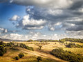 Tuscany image of landscape in italy Stock Photography