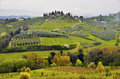 Tuscany landscape Royalty Free Stock Photo