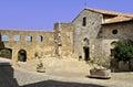 Tuscany maremma paese caratteristico Royalty Free Stock Photo