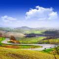Tuscany scenery travel in italy series Royalty Free Stock Photo