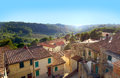 Tuscany Village Royalty Free Stock Photo