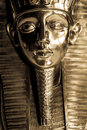 Tutankhamen face Royalty Free Stock Photo