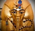Tutankhamen Golden Mask Royalty Free Stock Photo