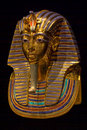 Tutankhamun's Burial Mask Royalty Free Stock Photos