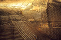 Tutankhamun's sarcophagus Royalty Free Stock Photo