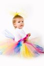 Tutu Baby Girl Royalty Free Stock Photos