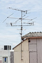 TV antennas. Stock Photography