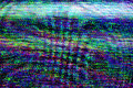 Tv damage television static noise bad sync channel rgb lcd screen with from poor broadcast signal reception as analogue Stock Photography