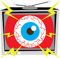 TV Eye Illustration