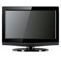 Tv monitor lcd on white Royalty Free Stock Photo