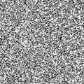 Tv noise grey on the screen dark pixels Royalty Free Stock Photo