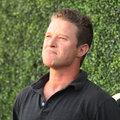 TV personality Billy Bush attends US Open 2016 semifinal match at USTA Billie Jean King National Tennis Center in New York Royalty Free Stock Photo