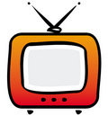 TV-set. Vector illustration Royalty Free Stock Images