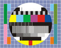 Tv technical review Royalty Free Stock Image