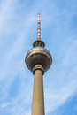 Tv tower in berlin germany Stock Photography
