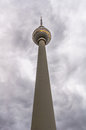 Tv tower fernsehturm in alexander platz berlin germany Stock Images