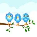 Tweet Royalty Free Stock Photo