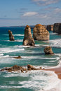 Twelve 12 Apostles Royalty Free Stock Image