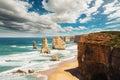 The twelve apostles in australia Royalty Free Stock Photography