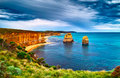Twelve Apostles  on the Great Ocean Road Royalty Free Stock Photo