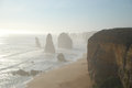 Twelve apostles in victoria australia along the great ocean road Stock Photos