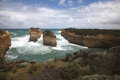 Twelve apostles victoria australia this stretch of the australian coast is a mecca for tourists due to it s spectacular scenery Royalty Free Stock Images