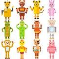 Twelve Zodiac Robots