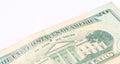 Twenty Dollar Bill isolated Royalty Free Stock Photo