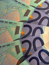 Twenty Euro Banknotes Stock Photography