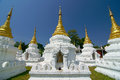 Twenty monastery this is a of lumpang in thai Royalty Free Stock Photography