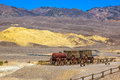 Twenty Mule Team of Harmony Borax Works in Death Valley. Royalty Free Stock Photo