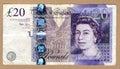 Twenty pounds Royalty Free Stock Photo