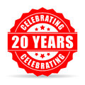 Twenty years anniversary celebrating icon