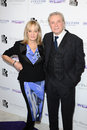 Twiggy lawson leigh and arriving for the south bank sky arts awards at the dorchester hotel london picture by alexandra glen Stock Photo