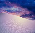 Twilight Desert Royalty Free Stock Image