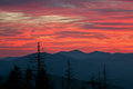 Twilight Great Smoky Mountains Royalty Free Stock Images