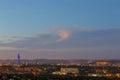 Twilight over Pretoria CBD