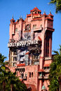 The Twilight Zone Tower of Terror at Disney's Hollywood Studios Royalty Free Stock Photo