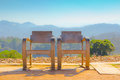 Twin chair Royalty Free Stock Photo